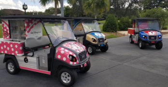 Disney World Golf Courses Getting New Refreshment Carts